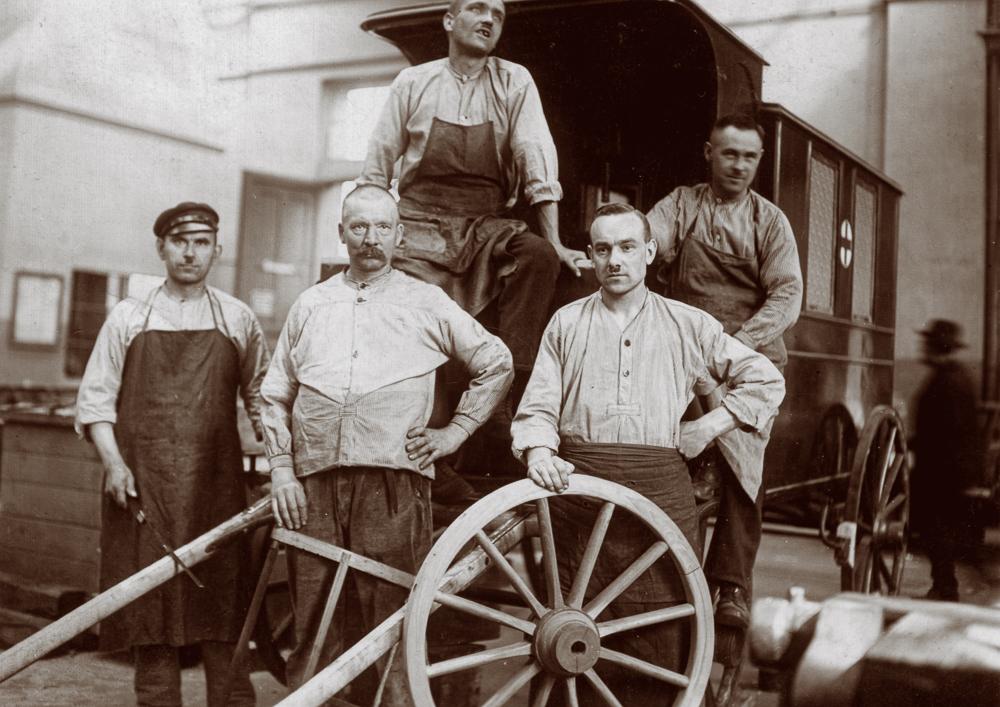 Arbeitwelt um 1920
